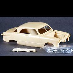 1951 Ford Victoria Hardtop Resin Body