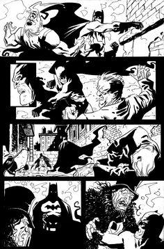Batman vs Penguin page #2