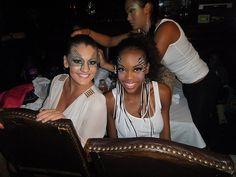 models backstage at Project Ethos House of Blues Stand up to Cancer 2011