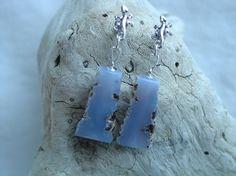 Ellensburg Blue freeform Earrings