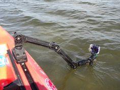 Kayak fishing on the Outer Banks
