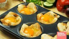 Zdjęcie Jajka zapiekane w tostach - HIT na śniadanie #6