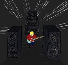 #doodles #ipaddrawing #rocker