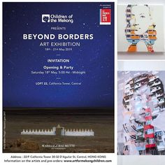 Beyond Borders from May to in the framework of and supporting Children of the Mekong. May, 18th, Presents, Invitations, Sculpture, Children, Instagram, Gifts, Young Children
