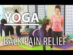 How To Yoga for Back Pain - 20 Minute Yoga Flow for Back Pain Relief Yoga(1 of 2).