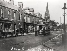 Adelaide Terrace Benwell Unknown c.1905
