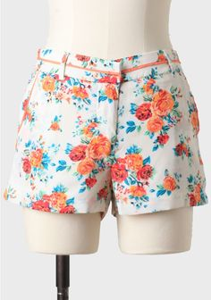 Expedition Floral Shorts