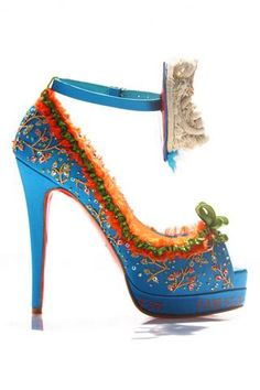 Christian Louboutin, Broderie Lesage