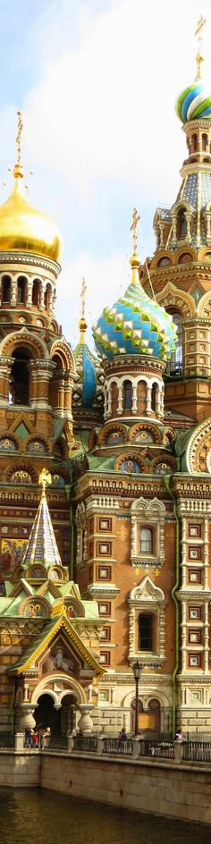 Church Of Savior of Blood - St. Petersburg   Russia