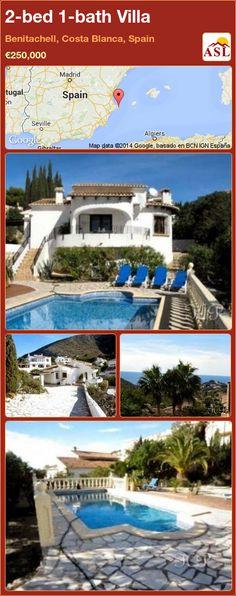 2-bed 1-bath Villa in Benitachell, Costa Blanca, Spain ►€250,000 #PropertyForSaleInSpain