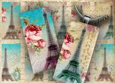 P Printable Labels, Printables, Decoupage, Romantic Paris, Craft Show Ideas, Vintage Pictures, Collage, Paper Crafts, Tote Bag