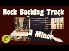 Rock Backing Track A Minor Pentatonic Scale, A Minor, Backing Tracks, Cool Guitar, Cool Words, It Works, Play, Rock, Fun