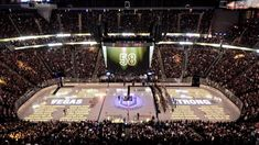 Golden Knights hold moment of silence to honor Las Vegas victims before home game Lv Golden Knights, Golden Knights Hockey, Nhl Games, Hockey Games, Moment Of Silence, Las Vegas, Hold On, In This Moment, Sports