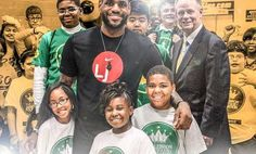 Good Guy LeBron James Offers Free Tuition To More Than 1,000 Kids