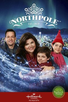 "Its a Wonderful Movie - Your Guide to Family Movies on TV: ""Northpole"", a Hallmark Channel Christmas Movie starring Tiffany Amber Thiessen, Josh Hopkins, and Bailee Madison Best Hallmark Christmas Movies, Xmas Movies, Movies 2014, Family Movies, Good Movies, Halloween Movies, Indie Movies, Comedy Movies, Hallmark Channel"