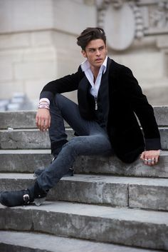 Paris –  Baptiste Giabiconi. Boy Wonder. Photo © Wayne Tippetts