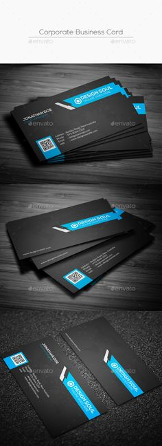 Corporate Business Card - Corporate Business Cards Download here : https://graphicriver.net/item/corporate-business-card/17664089?s_rank=36&ref=Al-fatih