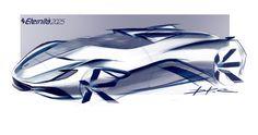 Ferrari Eternita' Pencil Sketch