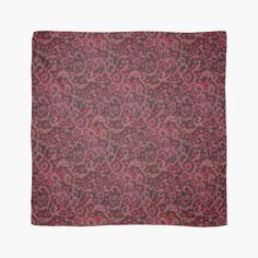 """""""Pink Flowers, Blush Curves"""" Scarves by clipsocallipso 