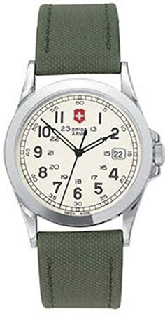 Victorinox Swiss Army Men's Infantry Leather Watch #24655 Victorinox Swiss Army, Swiss Army Watches, Army Men, Leather, Accessories