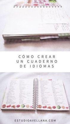 Ideas de libretas - Tu cuaderno de idiomas