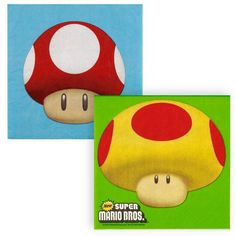 Super Mario Bros. Lunch Napkins | 16ct for $3.80 in Super Mario Bros. - Party Themes