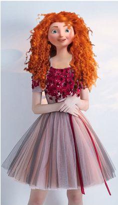 NM Hiccup Y Astrid, Merida And Hiccup, Merida Disney, New Disney Princesses, Modern Princess, Princess Style, Jelsa, Modern Merida, Barbie Cartoon