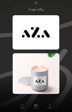 Logo brand candle « aZa » #logo #logotype #ideas #logoideas #creative #label #draw #mediathink #graphicdesign #inspiration #visualmerchandising #packaging #bougie #candles #typographyinspired #type Logo Branding, Brand Identity, Logo Design, Graphic Design, Visual Merchandising, Label, Typography, Packaging, Graphics