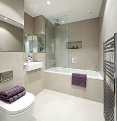 50 Impressive Bathroom Design Ideas With Modern Bathtub To Try - If you're considering a new bathroom design, it can be handy to know about the latest innovations in plumbing and construction technology, so you can . Hotel Bathroom Design, Minimalist Bathroom Design, Small Bathroom Renovations, Ideal Bathrooms, Master Bathrooms, Bathroom Mirrors, Hotel Bathrooms, Bathroom Wallpaper, Bathroom Cabinets