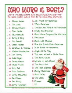 photo relating to Free Printable Christmas Games for Adults known as 22 Most straightforward Printable Xmas Online games illustrations or photos within just 2017 Xmas