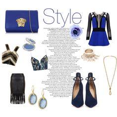 Senza titolo #10 by giuliamulonia on Polyvore featuring polyvore, fashion, style, Balmain, Zimmermann, Posh Girl, Christian Louboutin, Versace, Armenta and T. LeClerc
