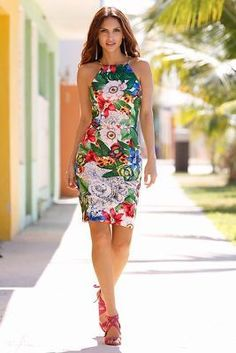 FREE Tropical Dress Sewing Pattern - 11 FREE Summer Sewing Patterns