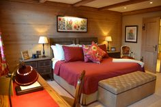 Our new Deluxe Suites at Gstaad Palace.