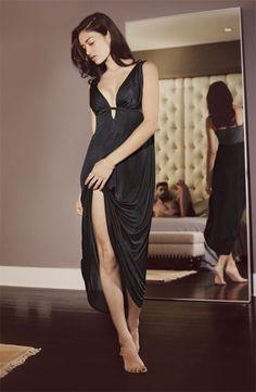 Natori 'Aphrodite' Sheer Back Nightgown; $150.00
