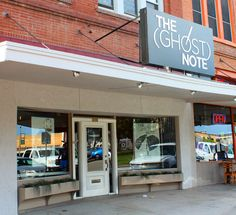 The Ghost Note, a shop on the Denton Square for your instrument needs