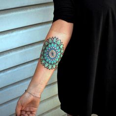 45 Mysterious Mandala Tattoo Meanings and Designs