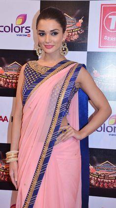 Amy Jackson at a Gulshan Kumar tribute concert. #Bollywood #Fashion #Style #Beauty #Hot #Desi #Sexy #Saree