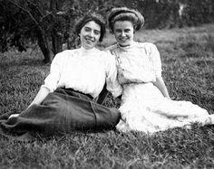 Edwardianera: Polly & Doris McTeigue 1910