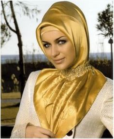 Golden Scarf..