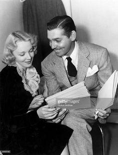 Clark Gable & Virginia Bruce -1937