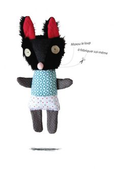 DIY stuffed animal kits from Sardine Shop | small for big