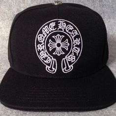 メルカリ商品: クロムハーツ 風 キャップ 帽子 ホースシュー ブラック #メルカリ