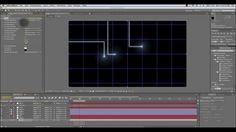 Animated Tron Lines Tutorial for After Effects
