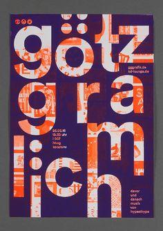 Götz Gramlich (GGGraphik design) lecturePoster from kd-lounge konstanz at HTWG Konstanz, 2015/ video /