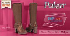 Moda Zapatos Fashion Shoes Collection Pakar Botas Pakar