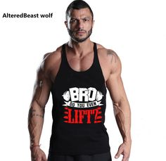 Men tank tops Bodybuilding gyms Clothing Fitness Mens Stringer cotton O-neck golds tank top for men Singlet brand Clothing