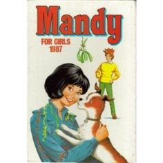 Mandy for Girls 1987 (Annual) [Hardcover] by D C Thomson Four Sisters, Comics Girls, Vintage Books, Boy Or Girl, Nostalgia, Childhood, Memories, Album, Magazines