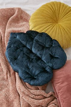 Velvet Palm Throw Pillow | Urban Outfitters