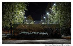 El parque | Color. Noche. Oscuridad. Grafiti. Madrid