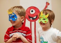 Wrong pic but the site has a 'Pin the Eye on the Monster' game; Fun!
